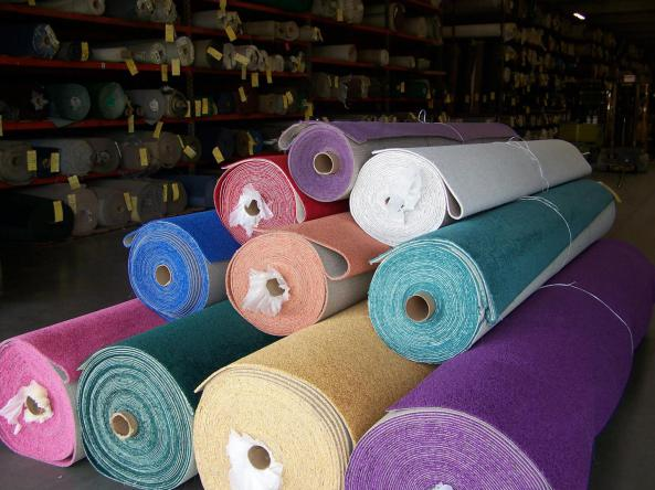 Carpet Warehouse has many colors of carpeting