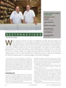 Al and Howard Sapper in Floor Focus Magazine